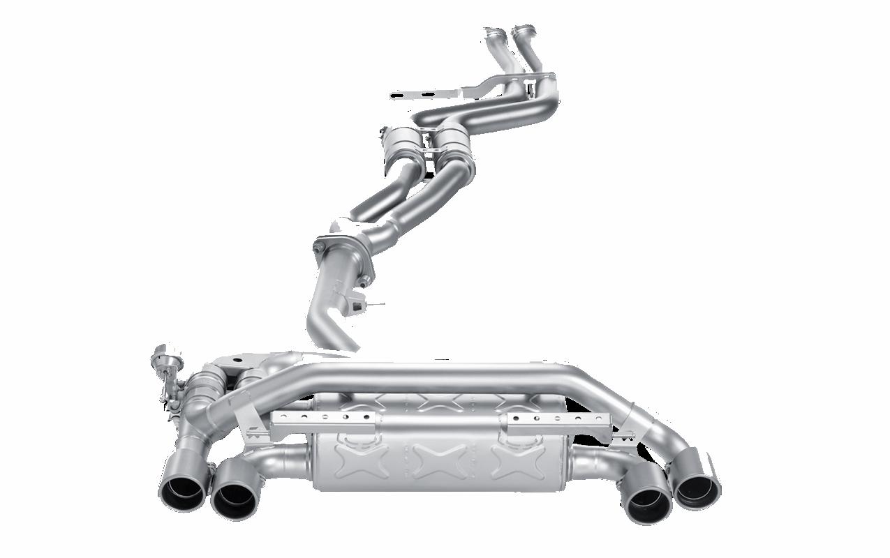 modbargains modauto akrapovic evolution exhaust system e82 1m coupe