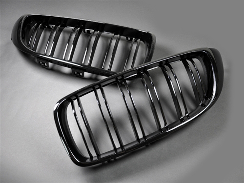 bmw grilles gloss black BM-0175-DS-GB