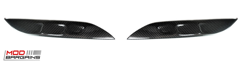 AutoTecknic Carbon Fiber Bumper Trim for 2014+ BMW M3 M4 F80 F82