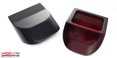 AutoTecknic Carbon Fiber or Red Kevlar Air Duct