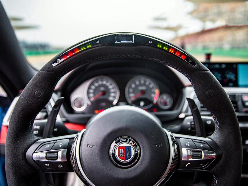 BMW M2 F87 F80 M3 F82 M4 M5 M6 X5M X6M Carbon Steering Wheel Trim+Shift Paddle