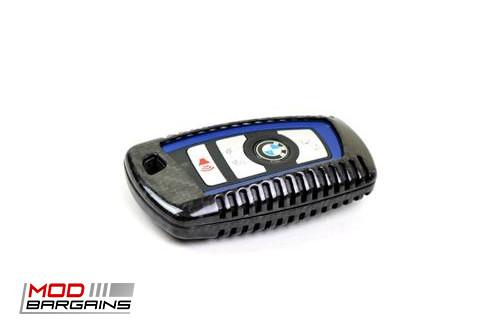 Auto Tecknic Carbon Fiber Key Case F-Chassis Vehicles F22 F23 F87 F30 F31 F34 F80 F32 F33 F36 F82 F10 F03 F12 F13 F01 ATK-BM-0001-BC