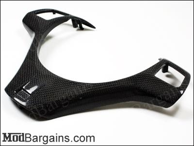Carbon Fiber Steering Wheel Trim BMW 1M/M3 E82/E90/E92 - BM-0188