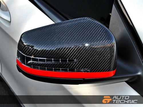 CF Mirrors on Car