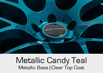 Avant Garde Bespoke Level 1 Metallic Candy Teal