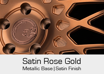 Avant Garde Bespoke Level 1 Satin Rose Gold