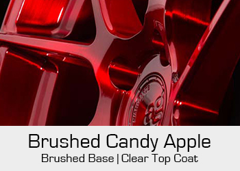Avant Garde Bespoke Level 3 Brushed Candy Apple Red