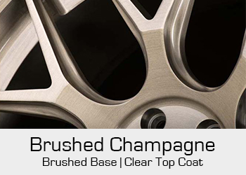 Avant Garde Bespoke Level 3 Brushed Champagne