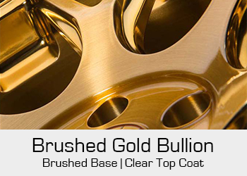 Avant Garde Bespoke Level 3 Brushed Gold Bullion