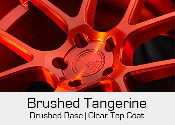Avant Garde Bespoke Level 3 Brushed Tangerine