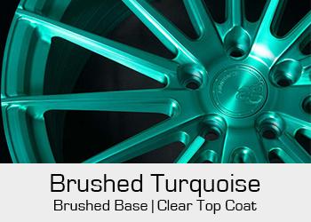 Avant Garde Bespoke Level 3 Brushed Turquoise