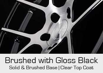 Avant Garde Bespoke Level 3 Brushed with Gloss Black