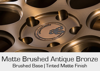 Avant Garde Bespoke Level 3 Matte Brushed Antique Bronze