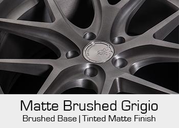 Avant Garde Bespoke Level 3 Matte Brushed Grigio