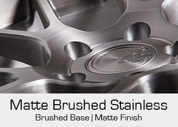 Avant Garde Bespoke Level 3 Matte Brushed Stainless