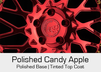 Avant Garde Bespoke Level 3 Polished Candy Apple Red