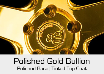 Avant Garde Bespoke Level 3 Polished Gold Bullion