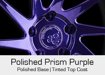 Avant Garde Bespoke Level 3 Polished Prism Purple
