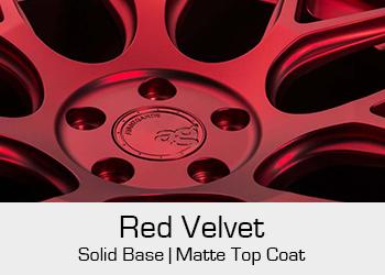 Avant Garde Bespoke Level 3 Red Velvet