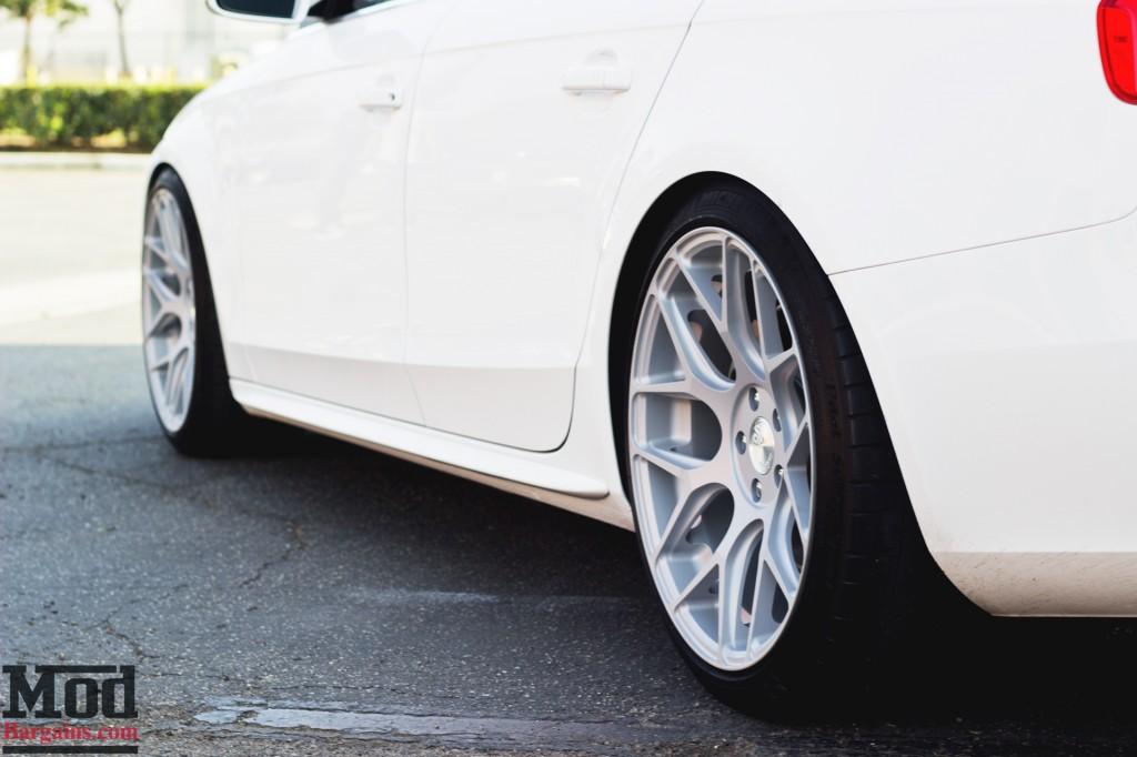 Avant Garde M590 Wheels for Audi B8 A4 5x112mm Satin Silver Installed 3