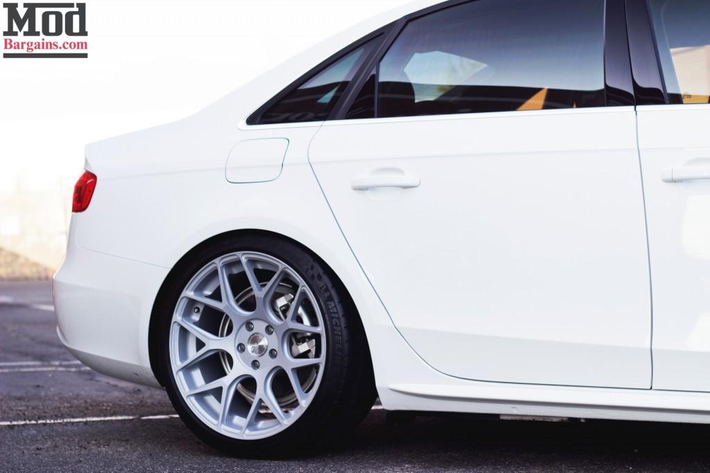 Avant Garde M590 Wheels for Audi B8 A4 5x112mm Satin Silver Installed 4