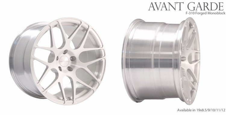 Avant Garde F310 Wheels Brushed