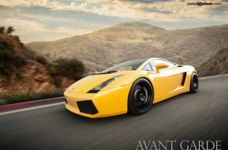 Avant Garde F310 Wheels Lamborghini Gallardo In Action
