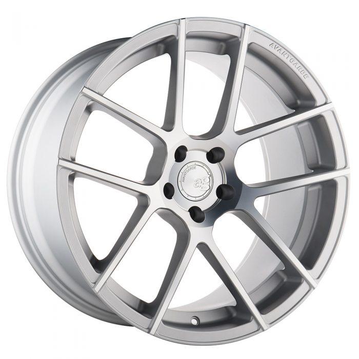 Avant Garde M510 Wheels in Satin Silver