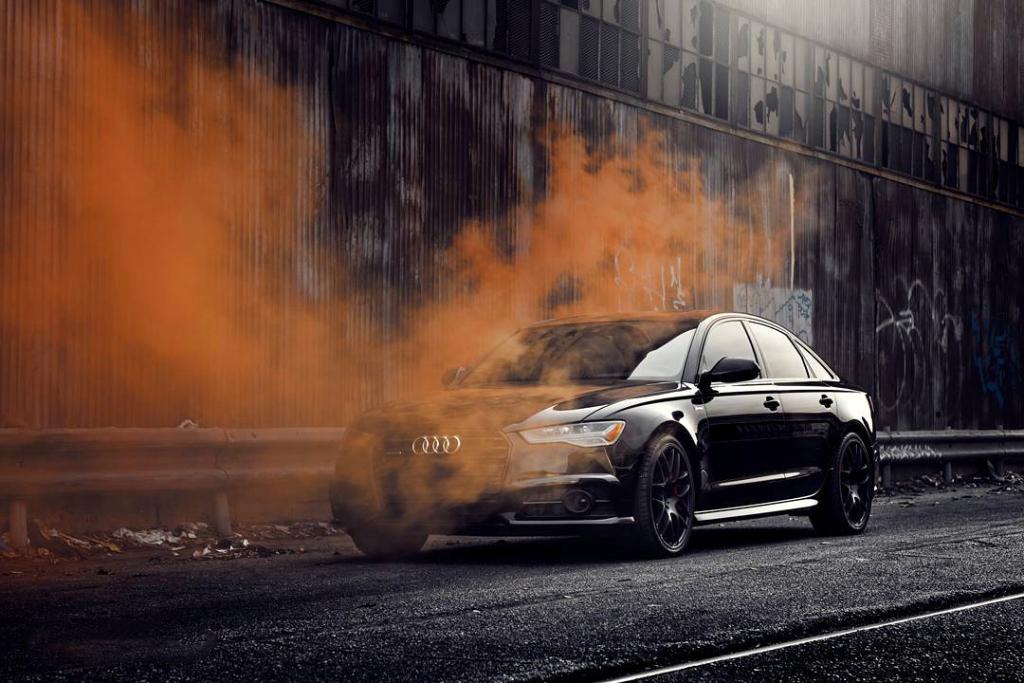 Avant Garde M610 Wheels in Matte Black on Audi A6 (3)