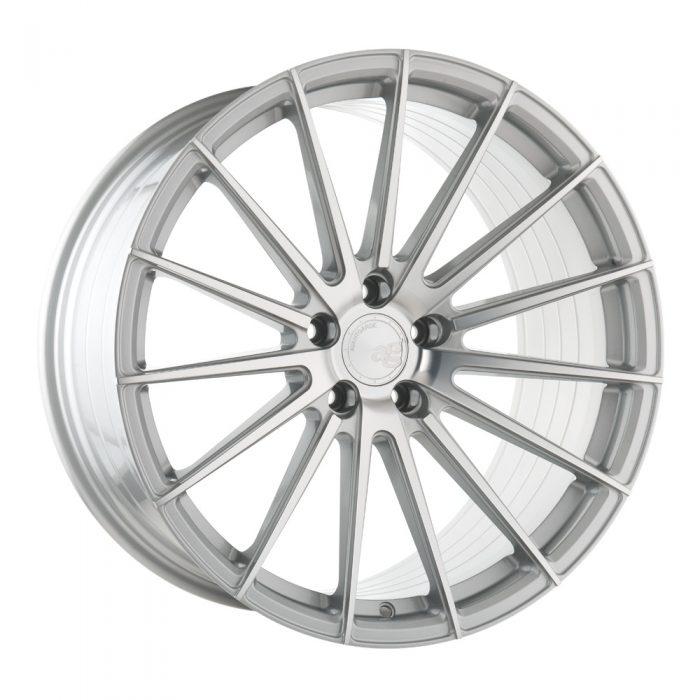 Avant Garde M615 Wheels in Machine Silver