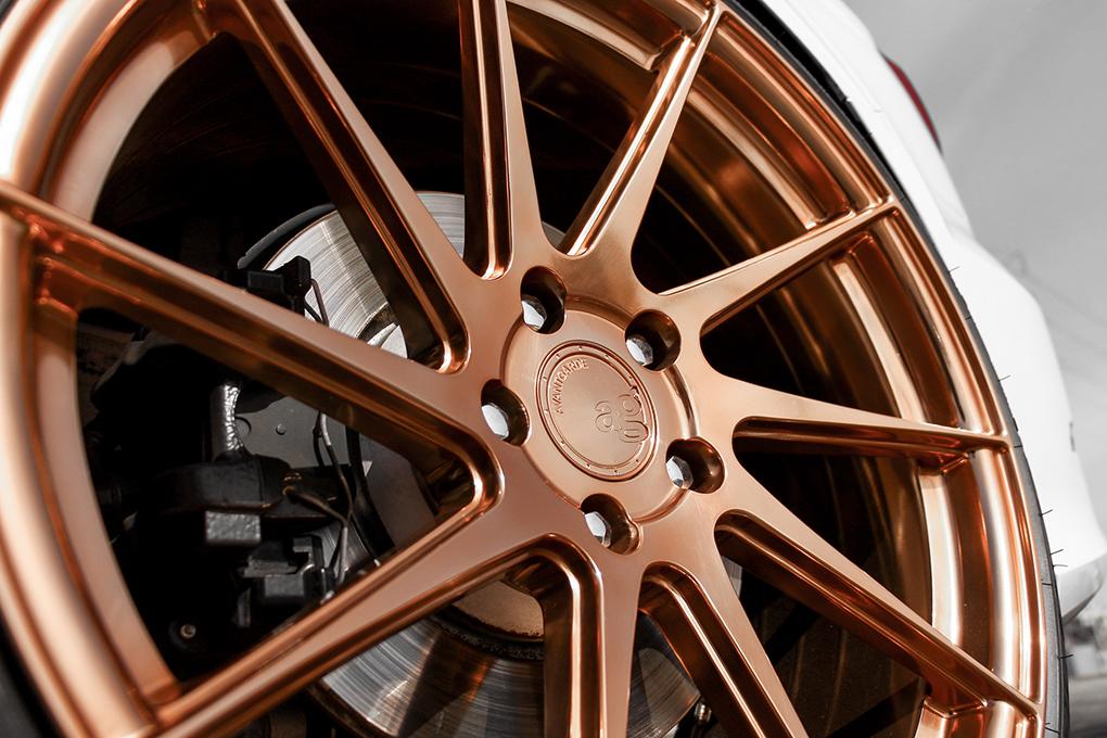 Avant Garde M621 Wheels in Polished Copper (4)