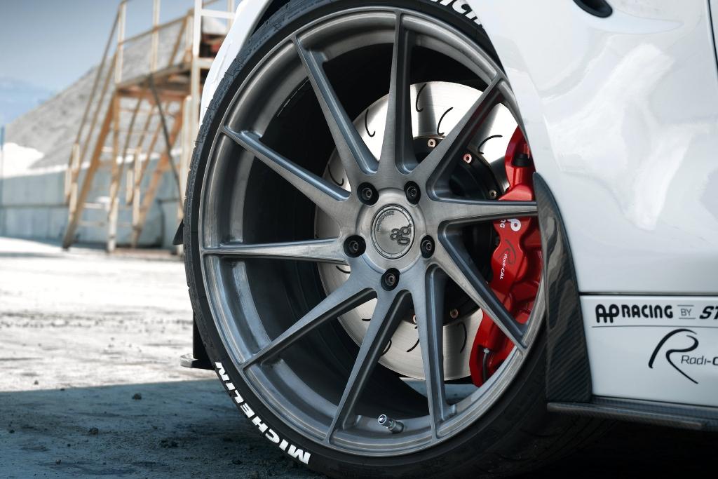Avant Garde M621 Wheels in Brushed Grigio