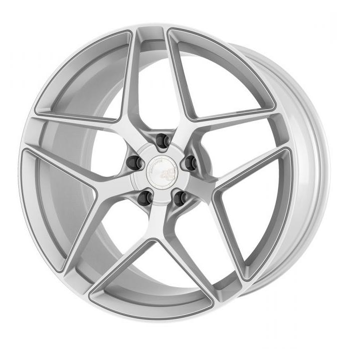 Avant Garde AG M650 Wheels in Machine Silver
