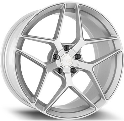 Avant Garde M650 Wheels in Machine Silver for Subaru