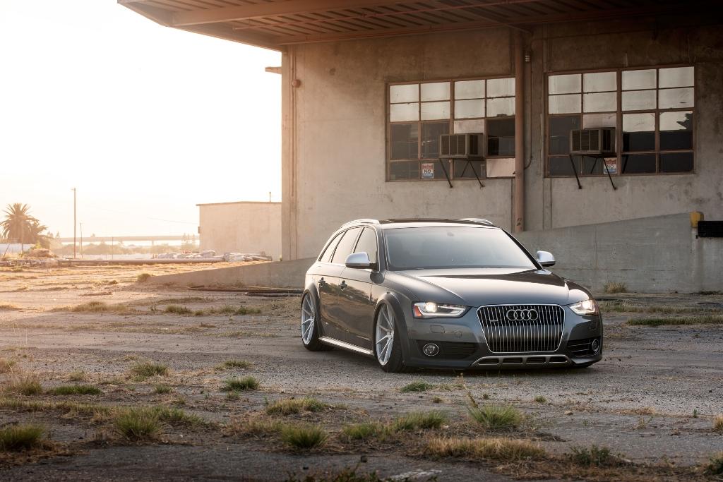 Avant Garde M652 Machine Silver on Audi Allroad (2)