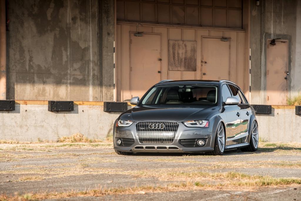 Avant Garde M652 Machine Silver on Audi Allroad