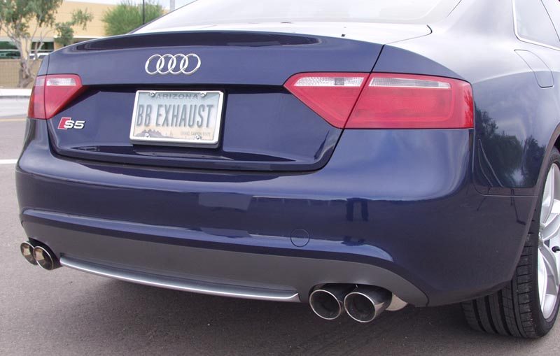 Billy Boat Audi B8 S5 Performance Exhaust System