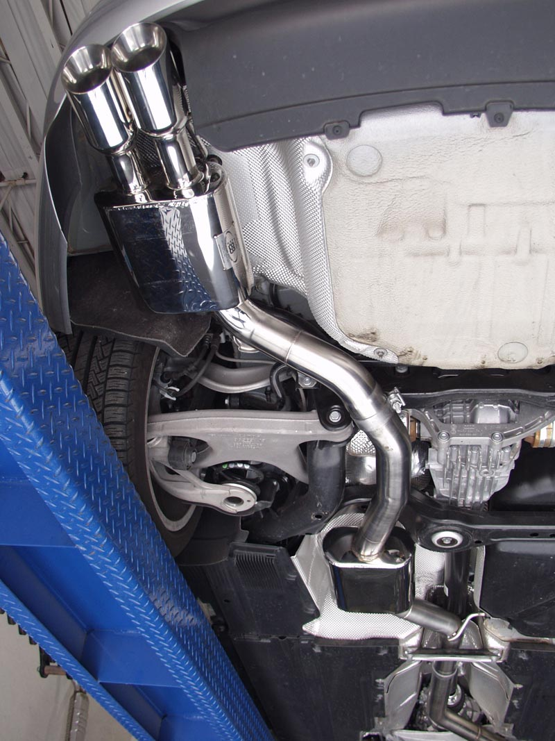 Billy Boat Cat-Back Exhaust Installed on Audi A5 B8