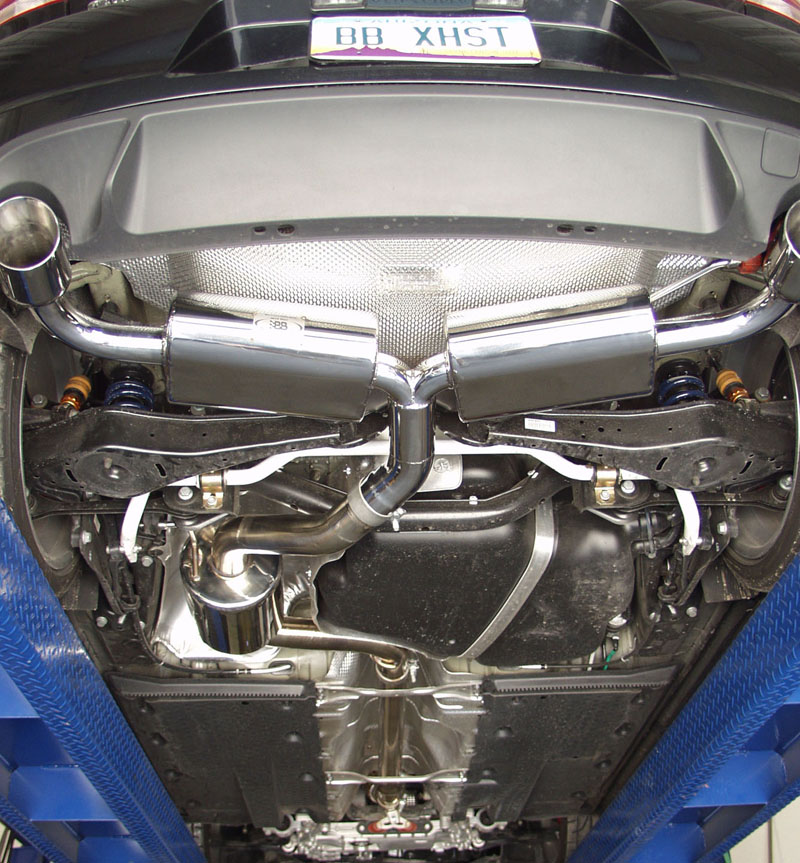 Billy Boat Cat-Back Exhaust System for 2010-14 VW GTI MK6 Installed