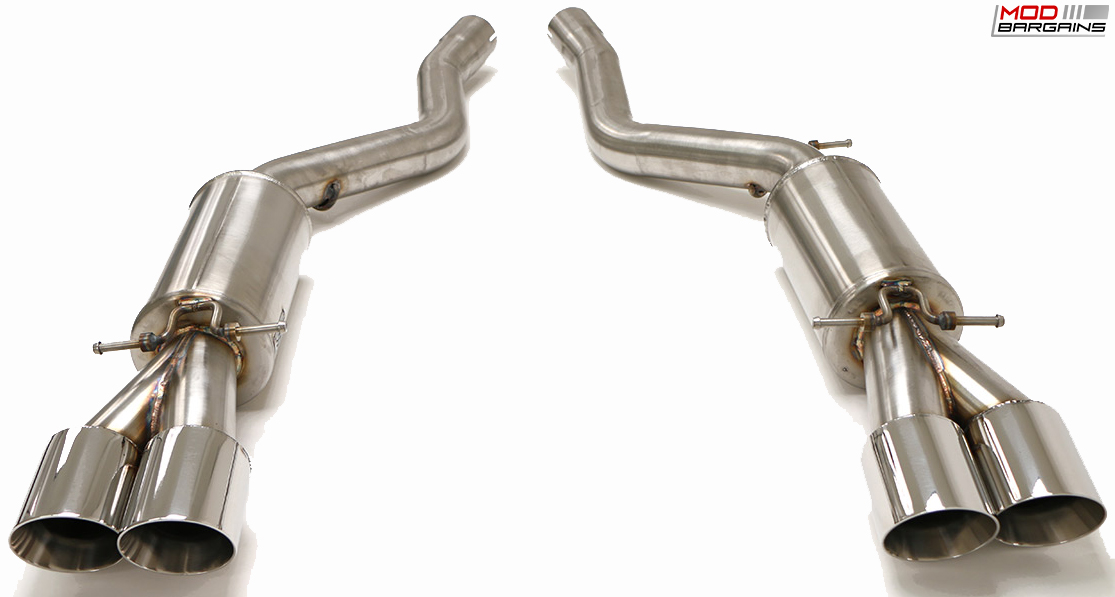Billy Boat Axle-Back Exhaust System for BMW M6 E63