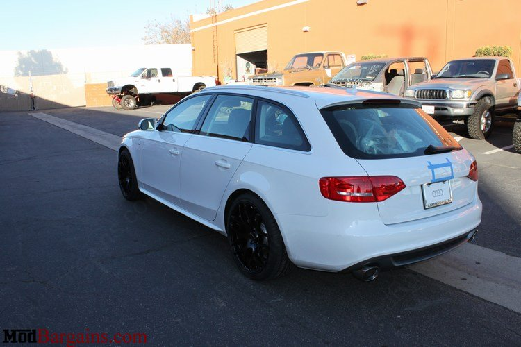Billy Boat Cat-Back Exhaust Installed on Audi A4 B8 - FPIM-0604