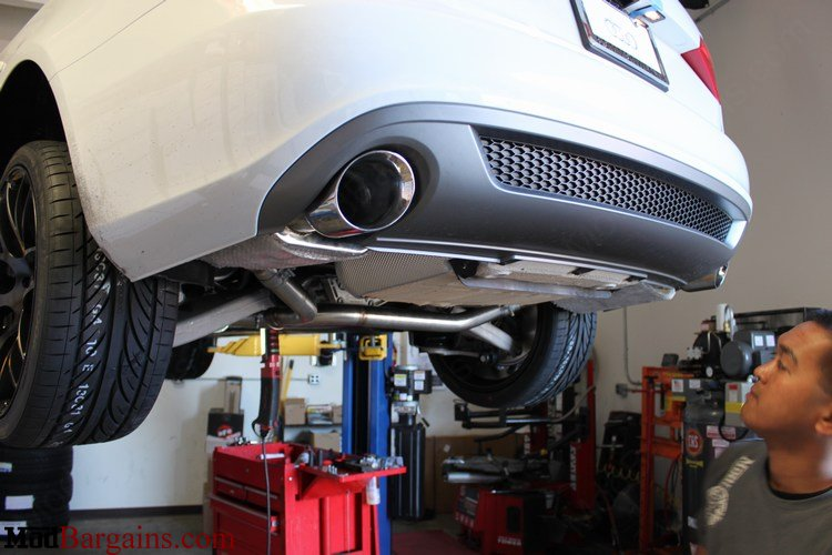 Billy Boat Cat-Back Exhaust Installed on Audi A4 B8 Avant Quattro