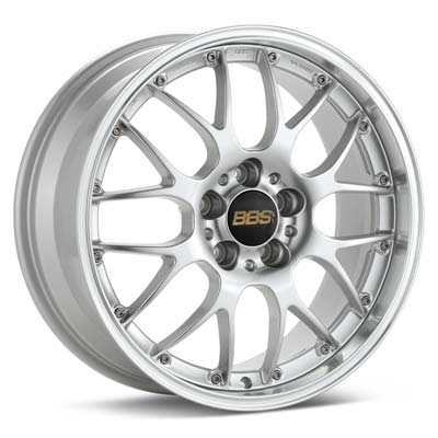BBS RS-GT Wheel in Diamond Silver