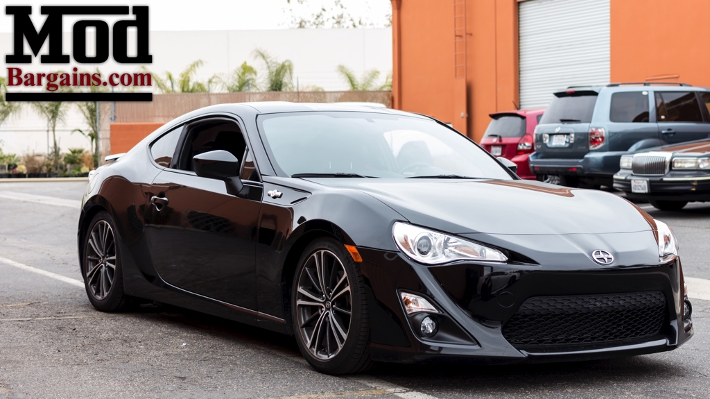Toyota AE86 BRZ Scion FR-S Dropped on BC Coilovers