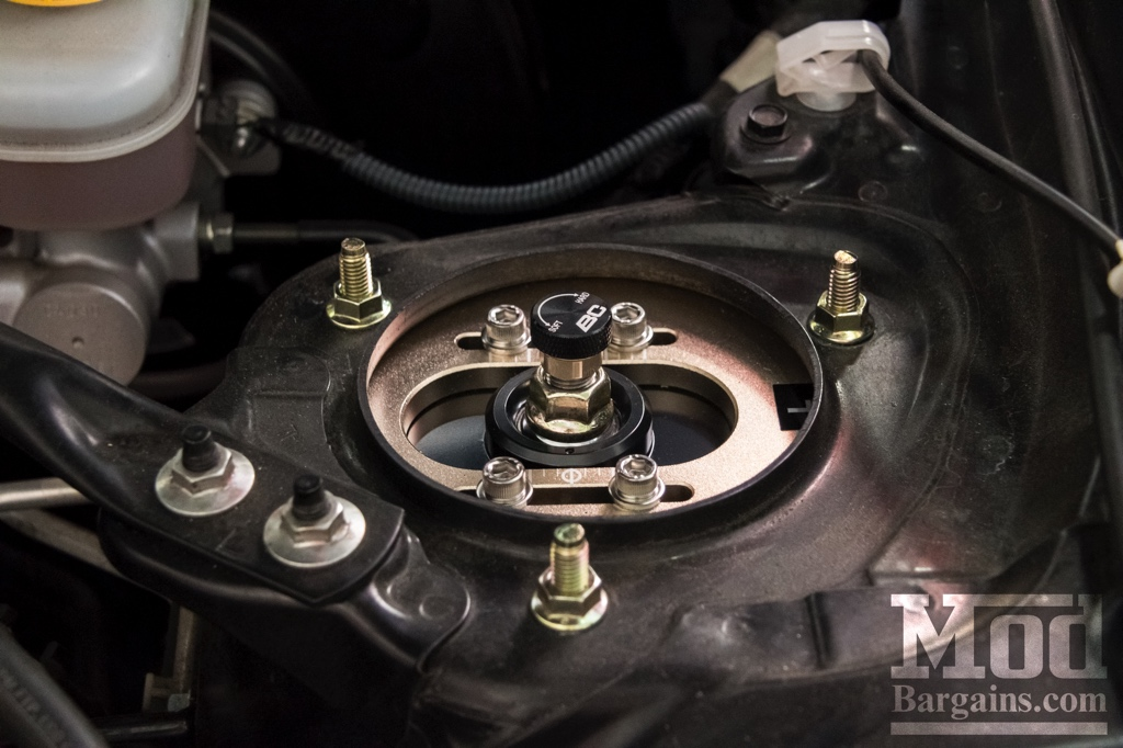 Scion FR-S Front BC Coilover Camber Plate