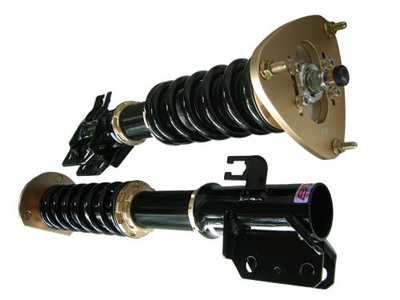 BR Series BC Racing Coilovers for Audi B8 A4/S5 Close Up