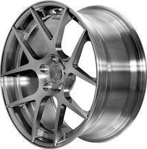 BC Racing Wheels HB 05S Brushed Black(rim) Brushed Black(disk)