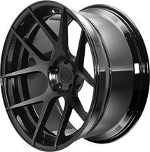 BC Racing Wheels HB 05S Gloss Black(rim) Matte Black(disk)