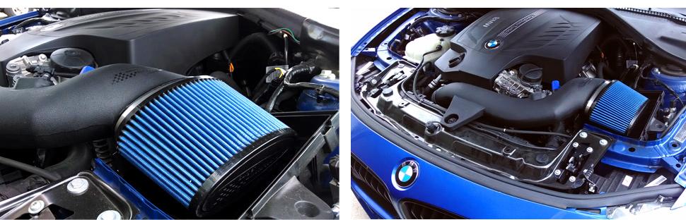 BMS Burger Motor Sport BMW F30 335i Intake N55 Installed 3