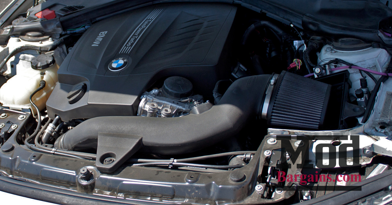 BMS Burger Motor Sport BMW F30 335i Intake N55 Installed 1